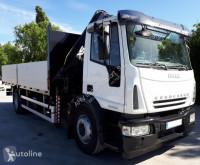 Kamion plošina Iveco 280 4X2 HIAB 122 E5 AÑO 2006