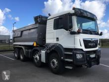Camion MAN TGS 41.460 8X4 BB Benne Ronde Meiller + Bâchage benne occasion