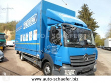 Mercedes 818 Pritsche 7150mm, LBW truck used tarp