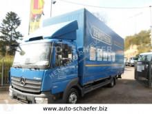 Camião Mercedes 818 Pritsche 7150 mm/ LBW caixa aberta com lona usado