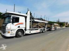 Lastbil med släp biltransport Scania P P420*Euro6*Retarder*MetagoPro* Fuhrpark