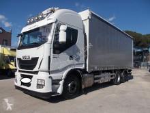 Camión lonas deslizantes (PLFD) Iveco Stralis 260S46 CENTINATO 7.40 PEDANA 2016 EURO 6