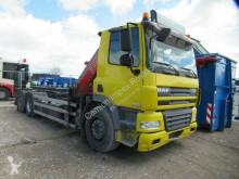 Kamion stroj s více korbami DAF CF85 CF85.360 6x2 Abroller mit Kran, 4 x hydr. Aussch