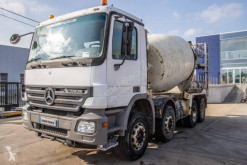 Mercedes Actros truck used concrete mixer