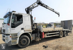 Camion Iveco GRUE HIAB 144.2 porte engins occasion