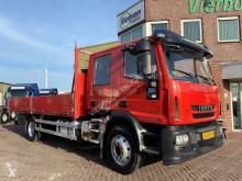 Caminhões Iveco ML120E25D PRITSCHE 7-PERSONEN AHK estrado / caixa aberta usado