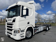 Camion Scania R500 6X2 BDF EURO 6 RETARDER NEXT GEN FULL AIR porte containers occasion