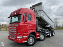 Camion Scania R560 8x4 RETARDER HUBREDUCTION EURO 5 MULDENKIPPER benne occasion