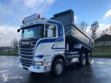 Scania R520 6X4 RETARDER EURO 6 MULDENKIPPER truck used tipper