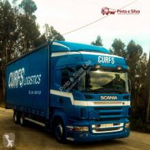 Camion Scania R420 rideaux coulissants (plsc) occasion