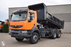 Vrachtwagen Renault Kerax 450 DXi tweedehands tweezijdige kipper