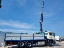Camion MAN TGA 18.410 plateau porte fer occasion