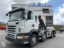 Camion polybenne Scania G G440 8x4 Moser Haken Zusatzhydraulik Retarder
