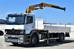 Camion Mercedes ATEGO 1828 Pritsche 6,90m + EFFER 120/2S+FUNK ! plateau occasion