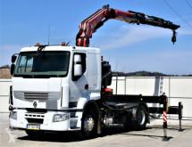 Vrachtwagen Renault PREMIUM 460 DXI * FASSI F275A.024 + FUNK ! tweedehands platte bak