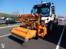 Unimog truck used three-way side tipper