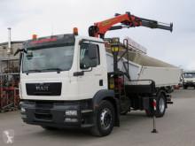 Camion tri-benne MAN TGM TG-M 18.290 K 4x2 2-Achs Kipper Kran Palf. PK 13000