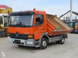 Camion ribaltabile trilaterale Mercedes Atego 823 K 2-Achs Kipper Meiller