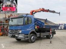 Camion ribaltabile Mercedes Atego 1224 K 2-Achs Kipper Kran Funk