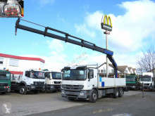 Camion Mercedes Actros 2541 L6x2 Pritsche Heckkran 5xhydr.+Funk plateau ridelles occasion