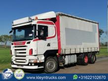 Teherautó Scania R 500 használt függönyponyvaroló