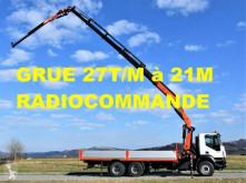 Camion plateau ridelles Iveco Trakker 380