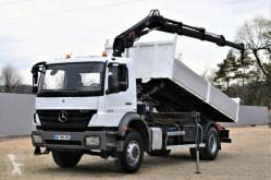 Mercedes Axor 1829 Kipper 5,20m + HIAB 111 B-3 DUO ! truck used flatbed