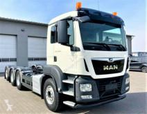 Camião MAN TGS 35.500 Fahrgestell*EURO 6! 8x4* estrado / caixa aberta usado