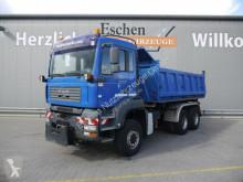 Camion ribaltabile trilaterale MAN TGA TGA 26.390 6x6*Blatt/Blatt*Meiller 3-S-Kipper*AC
