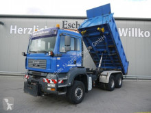 Camion MAN TGA TGA 26.390 6x6 Steel/Steel*AC*MEILLER*AP-Axle benne occasion