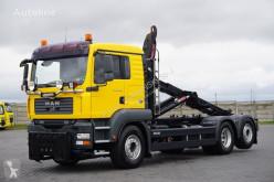 Camião poli-basculante MAN TGA / 26.400 / E 6 / 6 X 2 / HAKOWIEC / MULTILIFT