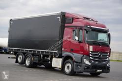 Camion rideaux coulissants (plsc) MERCEDES-BENZ ACTROS / 2543 / E 6 / 6 X 2 / FIRANKA + WINDA