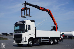 Ciężarówka platforma Volvo FH / 460 / E 6 / 6 X 2 / SKRZYNIOWY + HDS / PALFI