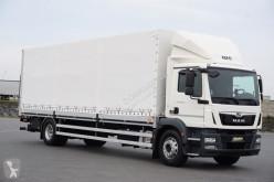 Camião MAN TGM / 18.290 / E 6 / ACC / SKRZYNIOWY + WINDA caixa aberta com lona usado