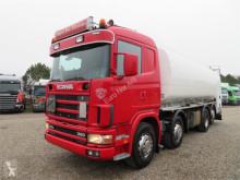 Camion Scania L 114G-380 8x2*6 24.000 ADR Retarder cisterna usato