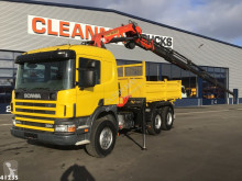 Scania P114 truck used flatbed