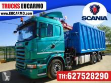 Camión Scania caja abierta usado