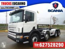 Camion polybenne Scania R124 420