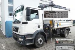 Camion ribaltabile trilaterale MAN TGM TG-M 15.250 BL 2-Achs Kipper Kran Hiab 088 B-2