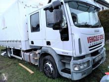 Teherautó Iveco SAVOYARDE DOUBLE CABINE 6 PLACES használt függönyponyvaroló
