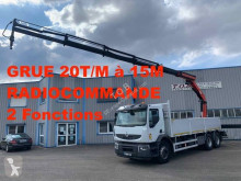 Camion Renault Kerax 370 DXI plateau ridelles occasion