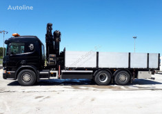 Kamion plošina Scania 380 6X2 HIAB 288 + JIB