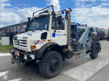 Unimog U5000 truck used hook arm system