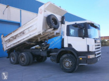 Scania L 114L truck used construction dump