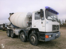 Camion betoniera autopompă de beton MAN