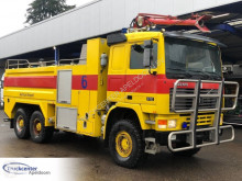 Volvo F12 truck used fire