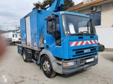 Lastbil Iveco Eurocargo 120 E 18 gondol ledad teleskopisk begagnad
