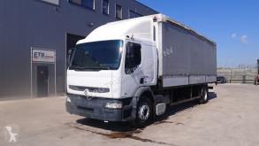 Lastbil Renault Premium 210 flexibla skjutbara sidoväggar begagnad