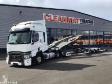 Kamion nosič vozidel Renault T 480 Comfort + Lohr truck transporter