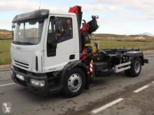 Iveco Eurocargo 120 E 24 DK tector truck used hook lift